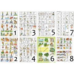 """Навчально-методичні плакати """"Загальні"""" для 1 го класу Ціна 1 го типового плакату (2 аркуша А3). – 30.00 грн."""