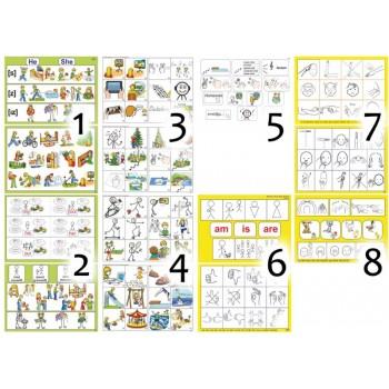 """Навчально-методичні плакати """"Загальні"""" для 2 го класу Ціна 1 го типового плакату (2 аркуша А3). – 30.00 грн."""