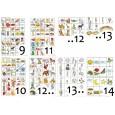 """Навчально-методичні плакати """"Загальні"""" для ЗДО, Ціна 1 го типового плакату (2 аркуша А3). – 30.00 грн."""