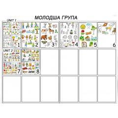Навчально-методичні плакати для Молодшої групи ДНЗ Ціна 1 шт. – 27.00 грн.